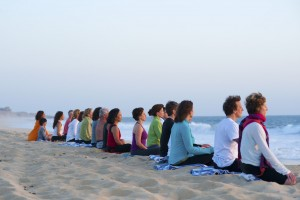 Beach-Meditation-Sunset
